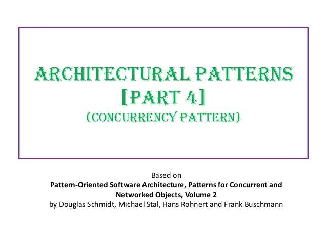 Architectural patterns part 4