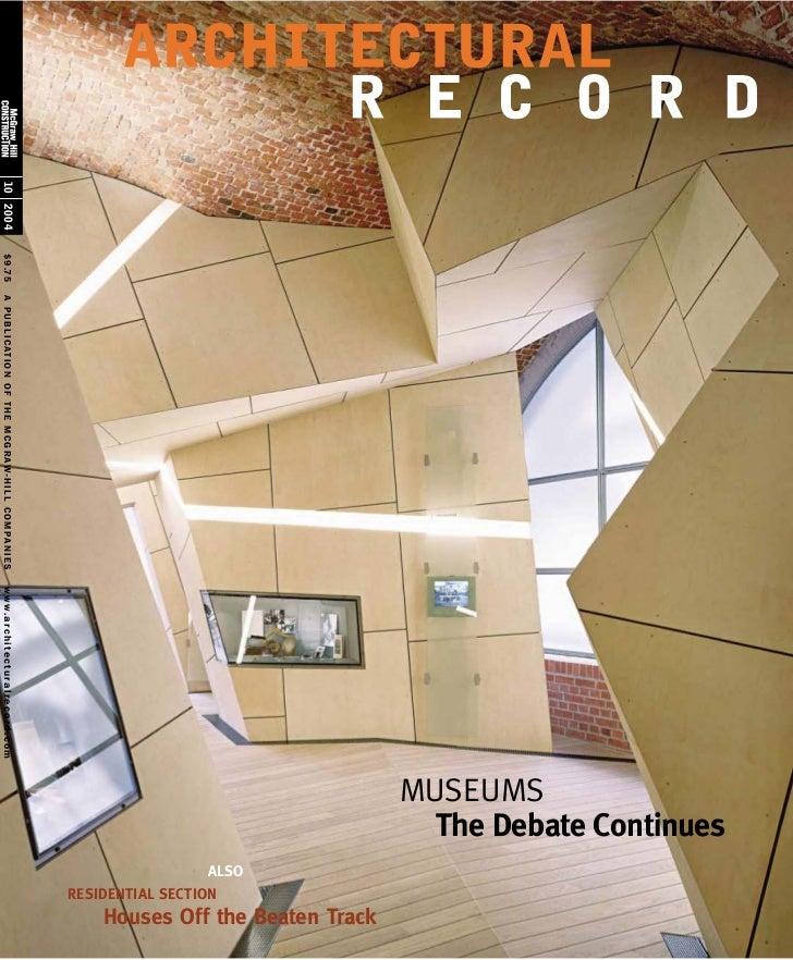 Architectural record (2004.10)
