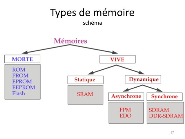 Architecture des ordinateurs memoires for Architecture d un ordinateur