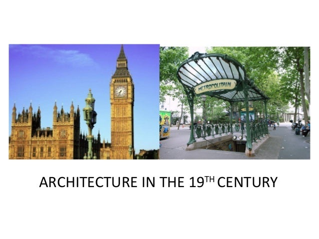 Architecture in the 19th century