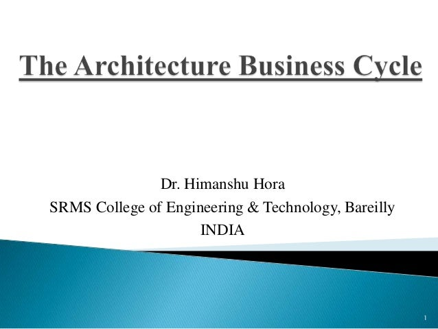 Architecture business subjects in college