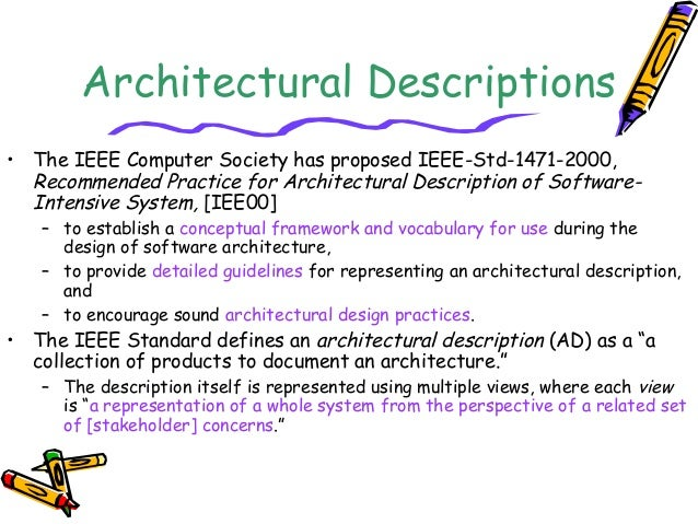 System Architecture Design Architectural Design Process