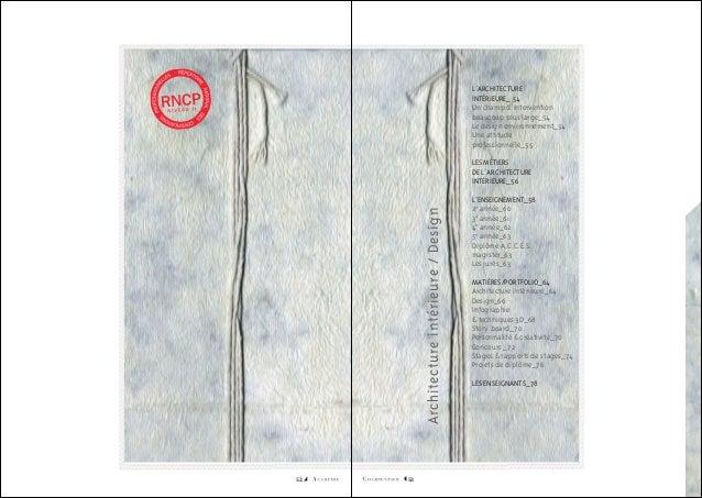 L'ARCHITECTURE INTÉRIEURE_ 54 Un champ d'intervention beaucoup plus large_54 Le design environnement_54 Une attitude profe...