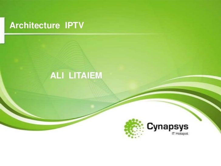 Architecture IPTV