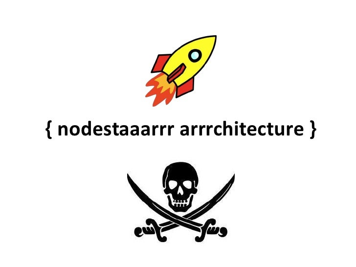 nodester Architecture overview & roadmap
