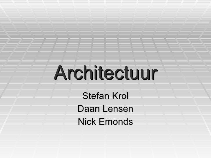 Architectuur CKV