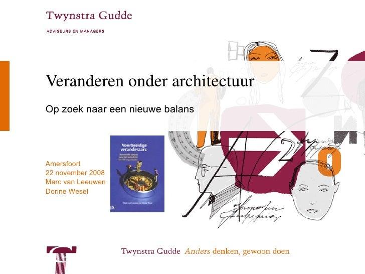 Architectuurcongres 2008 deel 1