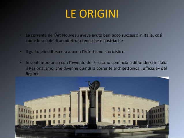 Architettura fascista for Architettura fascista in italia