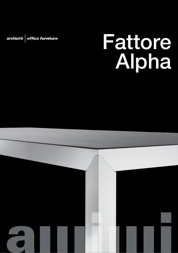 Archiutti fattore alpha