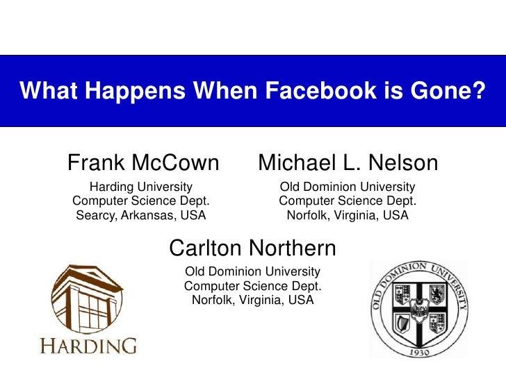 Archiving Facebook Ignite