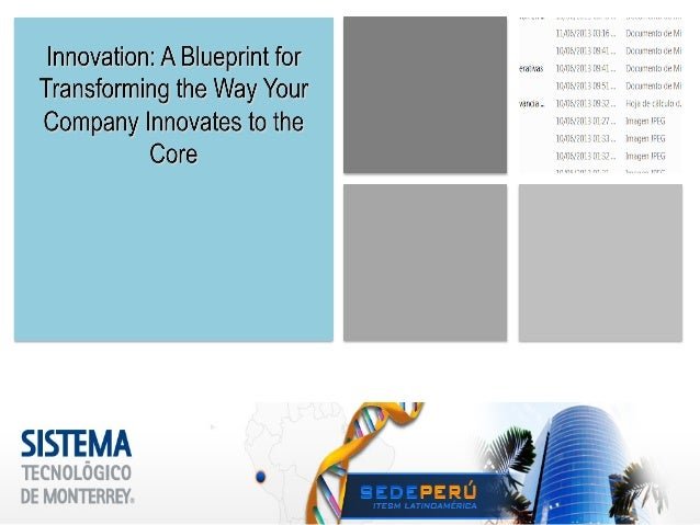 Slides of Innovation Courses EGADEMOI Itesm aug 2014