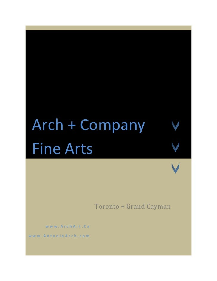 Arch + Company 2009