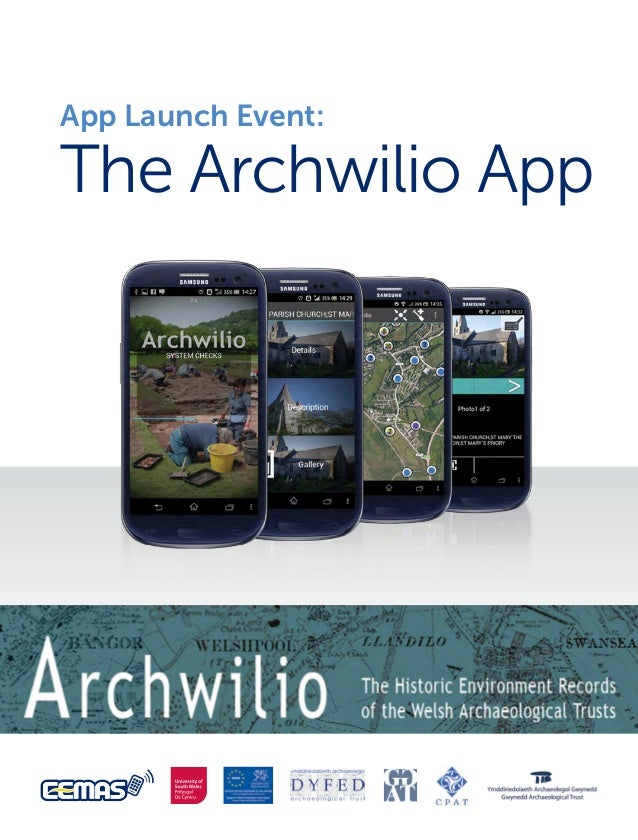 App Launch Event:  The Archwilio App