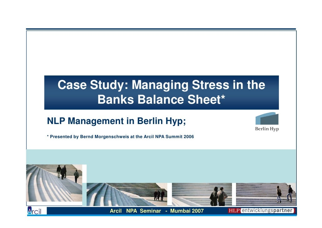 stress management personal case study