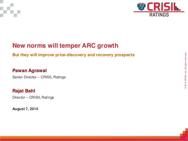 New norms will temper ARC growth
