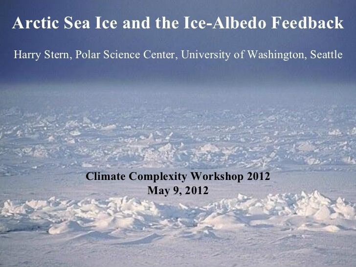 Arctic Sea Ice and the Ice-Albedo Feedback