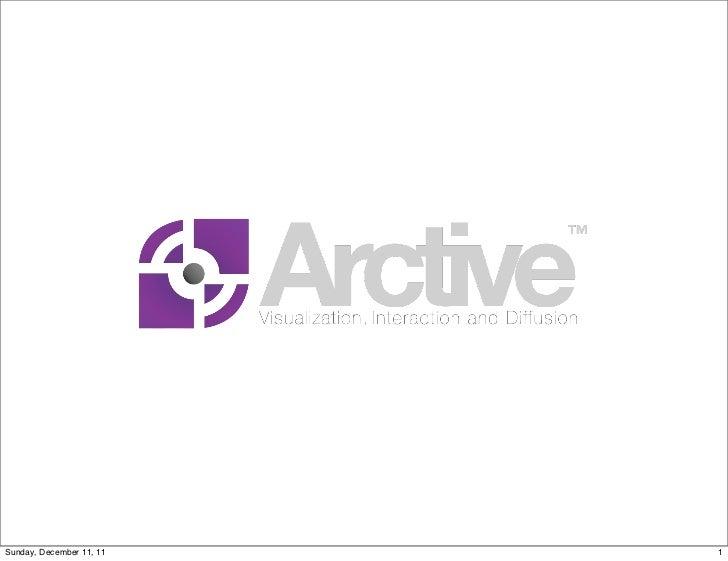 Arctive  presentation