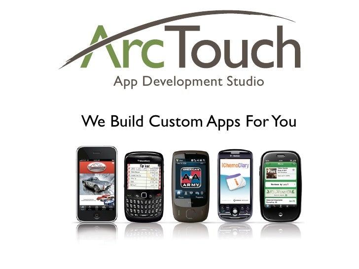 App Development Studio  We Build Custom Apps For You