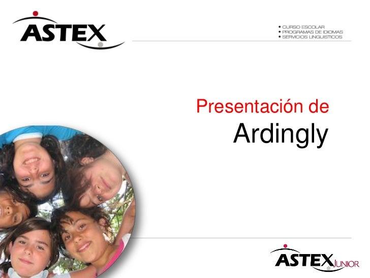 Presentación de    Ardingly