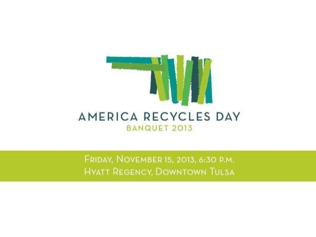 2013 America Recycles Day PowerPoint