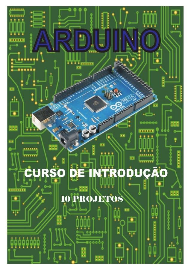Arduino   introdução - 10 projectos