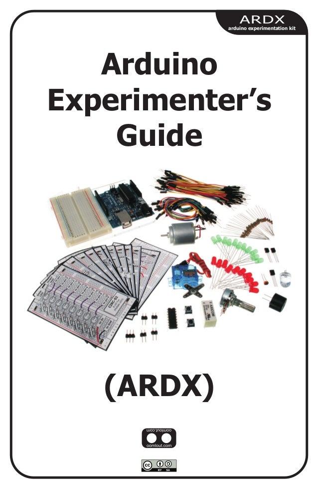 Arduino experimenters guide ardx