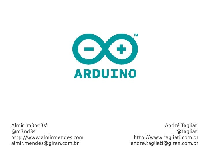 Projeto Arduino - Hardware para fazer coisas legais - FOCAI