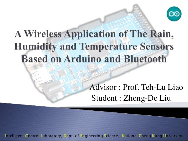 A Wireless Application of The Rain, Humidity and Temperature Sensors Based on Arduino and Bluetooth