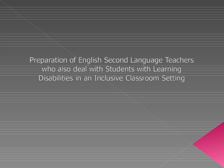 Are ESL teachers prepared to teach students with special needs?