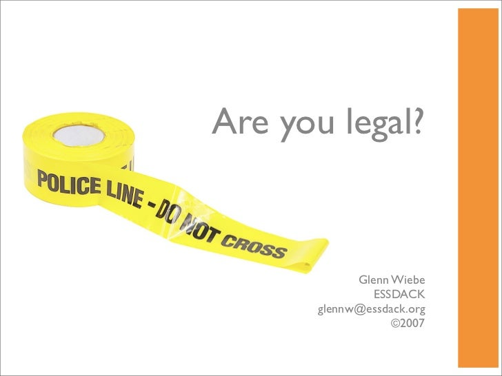 Are You Legal? Copyright & Plagiarism in the Classroom