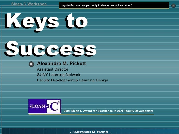 are you ready to develop an online course?