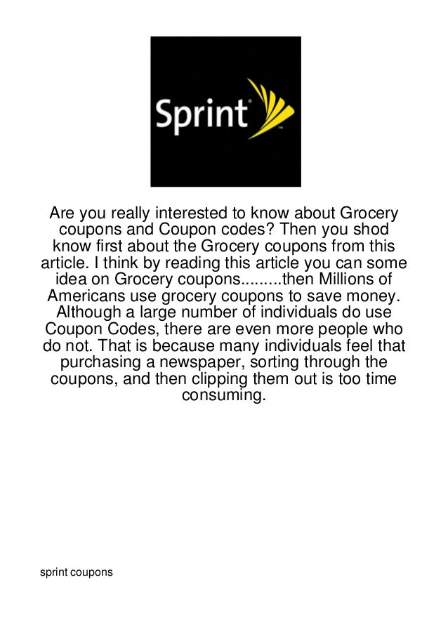 Are you really interested to know about Grocery   coupons and Coupon codes? Then you shod know first about the Grocery cou...