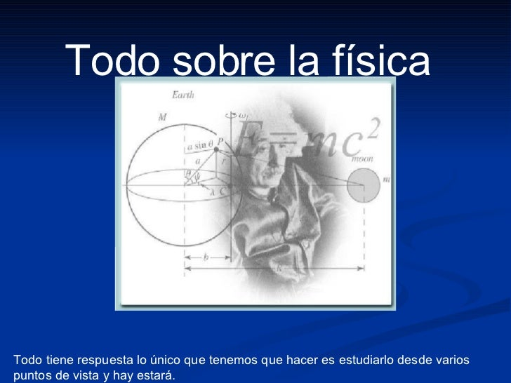 Areas de la Fisica