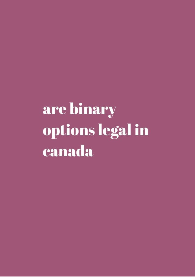Is binary options legal in uk
