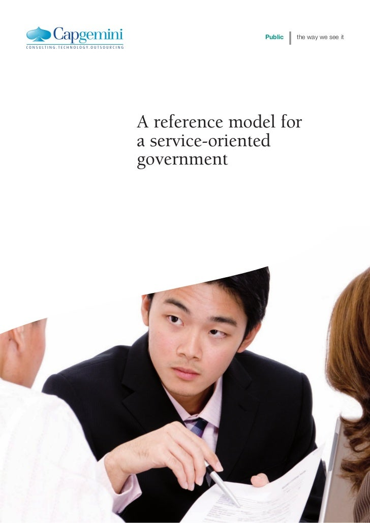 A Reference Model For A Service Oriented Government