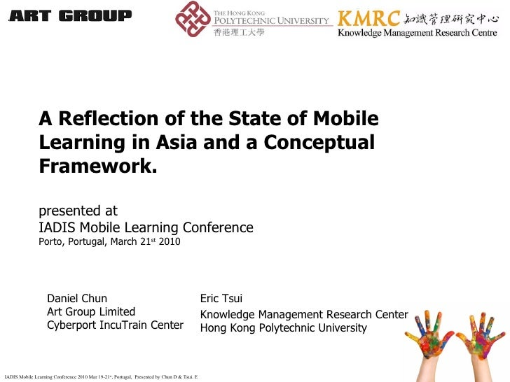 A Reflection of the State of Mobile Learning in Asia and a Conceptual Framework. presented at  IADIS Mobile Learning Confe...