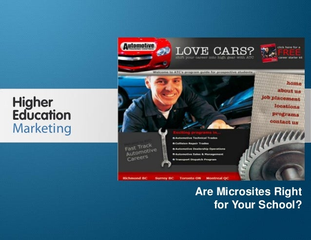 Are microsites right for your school?