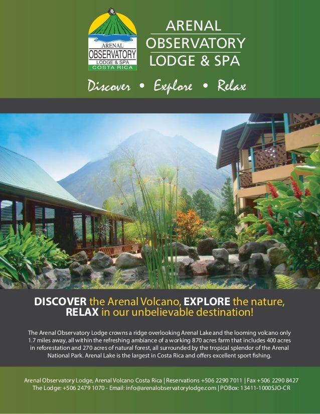 Arenal Observatory Lodge, Arenal Volcano, Costa Rica