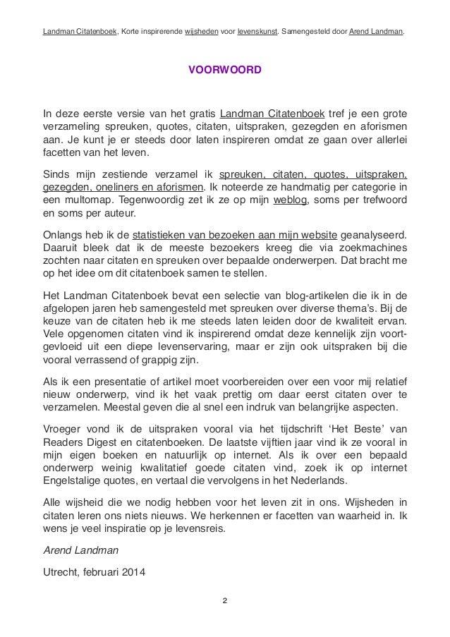Citaten Over Nieuw Begin : Arend landman citatenboek korte inspirerende wijsheden
