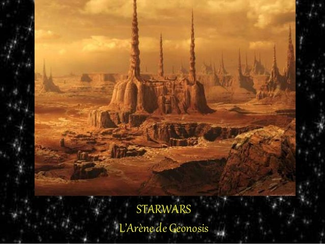 STARWARS L'Arène de Geonosis
