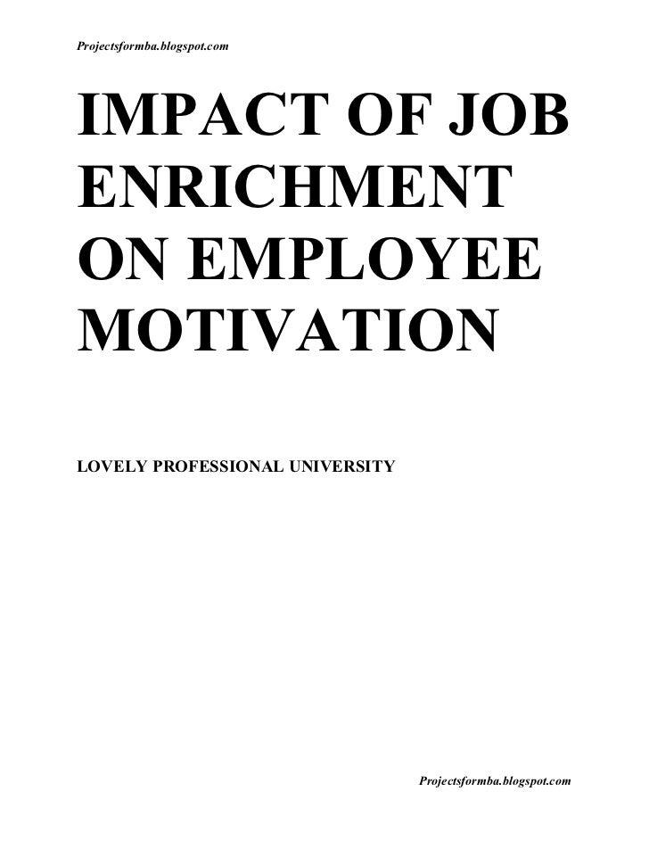 impact of motivation on employee productivity Impact of motivation on employee turnover in information regarding motivation impact on factor on increase productivity and decrease employee turnover.