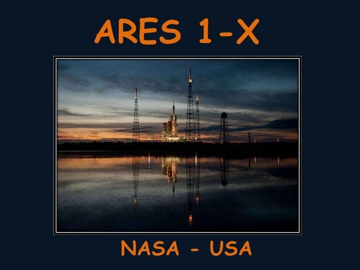 ARES 1-X NASA - USA
