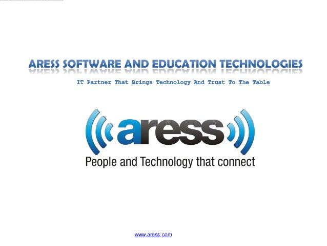 Aress Software and Education Technologies corporate presentation