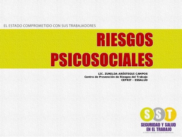 Arestegui seminario sst-riesgospsicosociales-2012-04-24