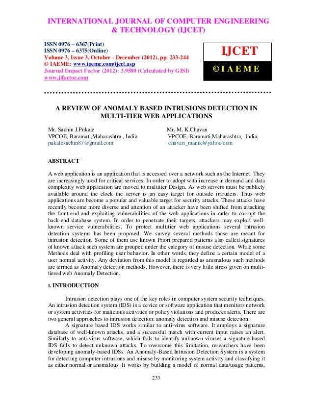 INTERNATIONAL JOURNAL OF COMPUTER ENGINEERING International Journal of Computer Engineering and Technology (IJCET), ISSN 0...
