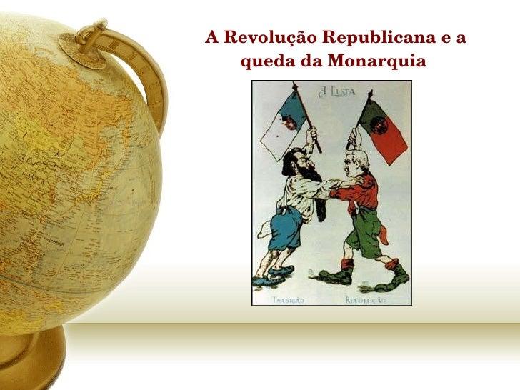 A revolução repúblicana
