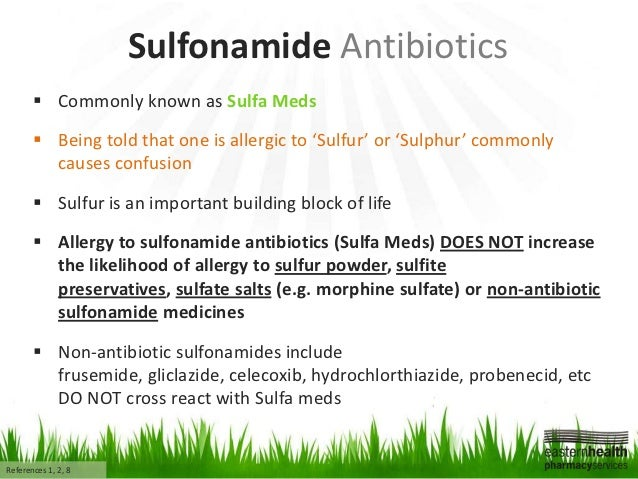 Does amoxicillin have sulfa in it? | Yahoo Answers