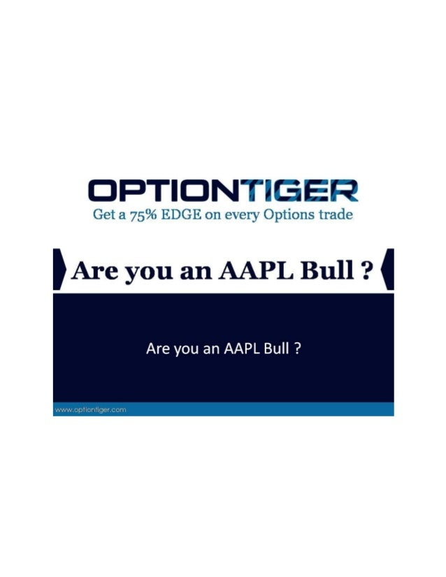 Are you an AAPL Bull ? Are you an AAPL Bull ? Well, you might have your shot at a Bullish trade. For the past few months, ...