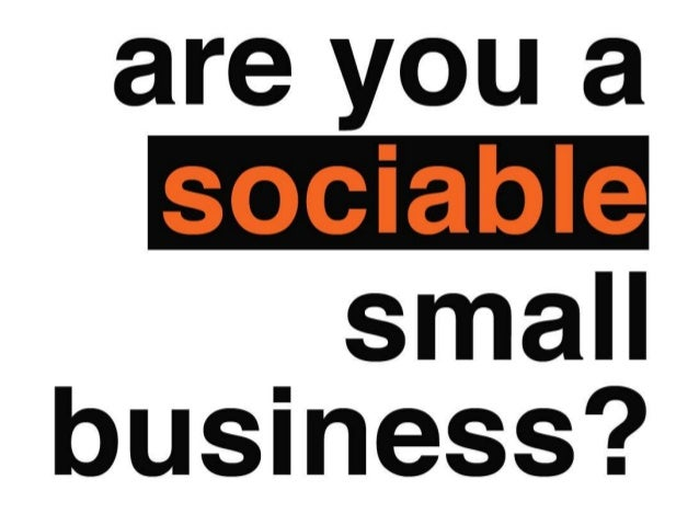 Are You A Sociable Business?