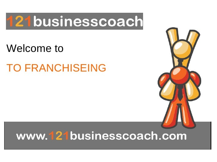 Welcome to  TO FRANCHISEING